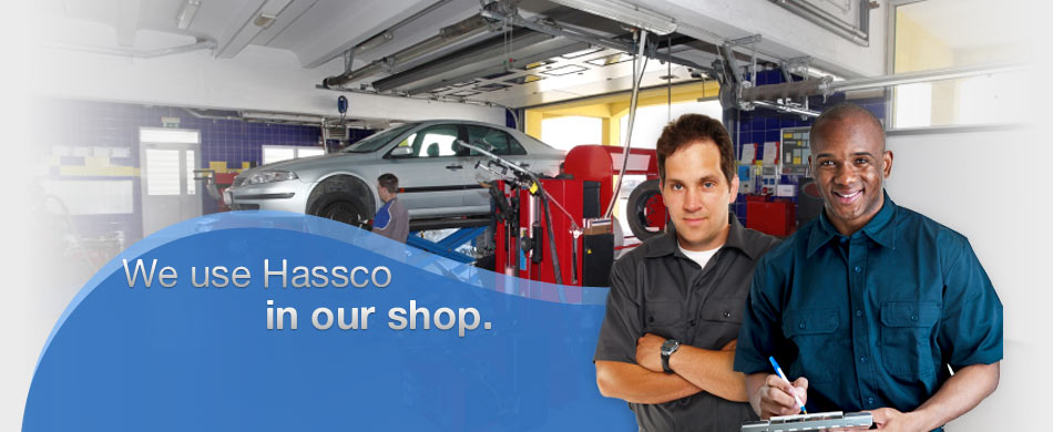 We use Hassco ... in our shop.