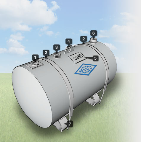 CGSB Approved Cylindrical Mobile IBCs