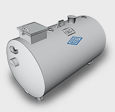 Double Wall Steel Utility Tanks